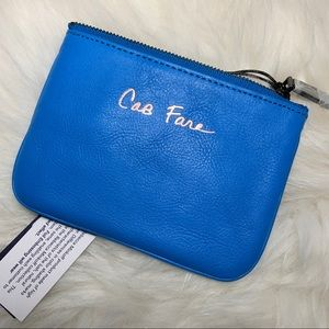 NEW! Rebecca Minkoff Turquoise Blue Cory Pouch